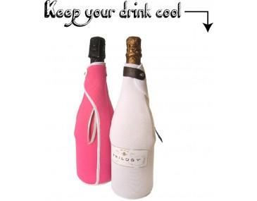 Champagne Neoprene Holder