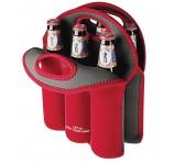 6 Bottle Stubby Cooler Bags Branded